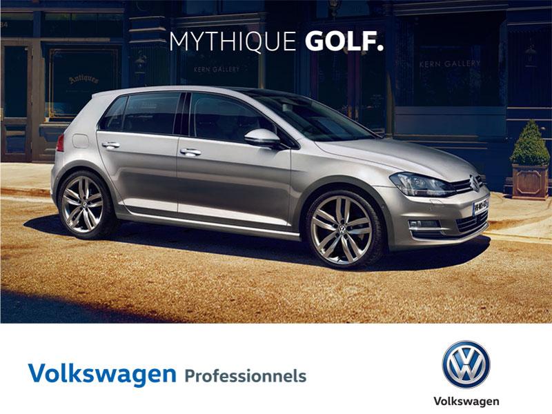 volkswagen professionnels golf un co t l 39 usage maitris. Black Bedroom Furniture Sets. Home Design Ideas
