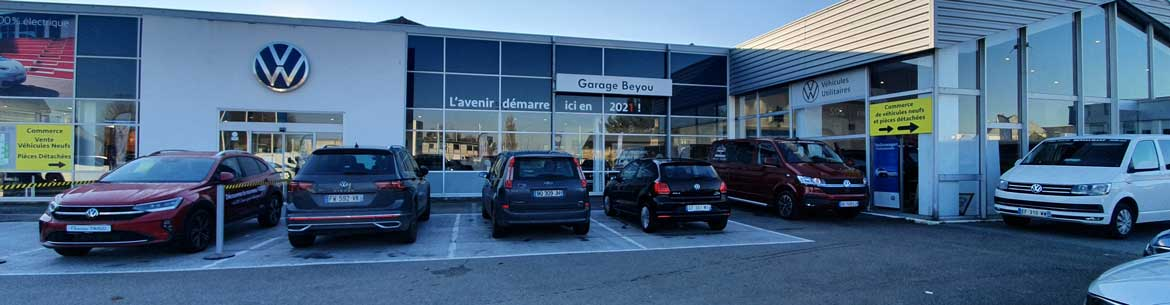 Photo de la concession Garage Beyou Volkswagen à Morlaix